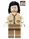 Minifig No: iaj019  Name: Marion Ravenwood - Tan Outfit (7625)