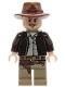 Minifig No: iaj044  Name: Indiana Jones - Open-Mouth Grin