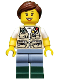 Minifig No: idea030  Name: Fisherwoman (21310)