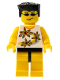 Minifig No: ixs001  Name: Xtreme Stunts Snap Lockitt