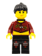 Minifig No: ixs004a  Name: Xtreme Stunts Sky Lane with Neck Bracket