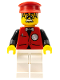 Minifig No: ixs005  Name: Xtreme Stunts Infomaniac