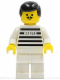 Minifig No: jail002  Name: Police - Jailbreak Joe, White Legs