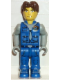 Minifig No: js002  Name: Jack Stone - Blue Jacket, Blue Pants, Gray Shirt