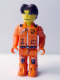 Minifig No: js025  Name: Jack Stone - Orange Jacket