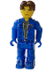 Minifig No: js026  Name: Jack Stone - Blue Jacket, Blue Pants