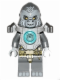 Minifig No: loc048  Name: Grumlo - Flat Silver Heavy Armor
