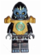 Minifig No: loc050  Name: Gorzan - Pearl Gold Heavy Armor