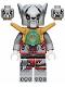 Minifig No: loc052  Name: Worriz - Pearl Gold Armor