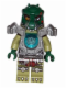 Minifig No: loc063  Name: Cragger - Heavy Armor