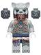 Minifig No: loc125  Name: Saber-Tooth Tiger Warrior 1