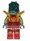 Minifig No: loc130  Name: Cragger - Fire Chi, Armor