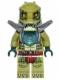 Minifig No: loc162  Name: Crawley - Flat Silver Armor