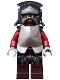 Minifig No: lor008  Name: Uruk-hai - Helmet and Armor