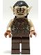 Minifig No: lor023  Name: Mordor Orc - Dark Tan