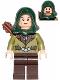 Minifig No: lor026  Name: Mirkwood Elf Guard with Hood