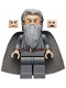 Minifig No: lor073  Name: Gandalf the Grey - Hair and Cape