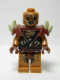Minifig No: lor089  Name: Gundabad Orc - Bald with Shoulder Spikes