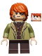 Minifig No: lor100  Name: Bain Son of Bard - Coat with Fur Trim