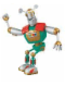 Minifig No: lrt002  Name: Duplo Figure Little Robots, Sporty with Fingers