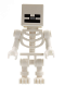 Minifig No: min011  Name: Skeleton with Cube Skull