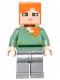 Minifig No: min026  Name: Alex - Flat Silver Legs
