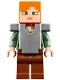 Minifig No: min045  Name: Alex - Flat Silver Armor (21133)