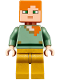 Minifig No: min047  Name: Alex - Pearl Gold Legs (21134)