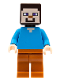 Minifig No: min056  Name: Steve - Dark Orange Legs (21135)