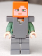 Minifig No: min059  Name: Alex - Flat Silver Armor and Legs (21139)