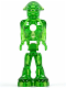 Minifig No: mm001  Name: Mars Mission Alien with Marbled Glow In Dark Torso