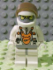 Minifig No: mm002  Name: Mars Mission Astronaut with Helmet and Balaclava