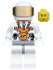 Minifig No: mm012  Name: Mars Mission Astronaut with Helmet and Cheek Lines