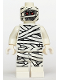 Minifig No: mof001  Name: Mummy - Glow In Dark Pattern