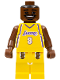 Minifig No: nba001  Name: NBA Kobe Bryant, Los Angeles Lakers #8 (Home Uniform)