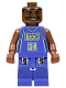 Minifig No: nba005  Name: NBA Ray Allen, Milwaukee Bucks #34