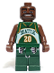 Minifig No: nba009  Name: NBA Gary Payton, Seattle SuperSonics #20