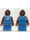 Minifig No: nba015  Name: NBA Tracy McGrady, Orlando Magic #1 (Blue Uniform)