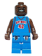 Minifig No: nba017  Name: NBA Jerry Stackhouse, Detroit Pistons #42