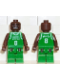 Minifig No: nba024  Name: NBA Antoine Walker, Boston Celtics #8 (Green Uniform)