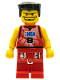 Minifig No: nba026  Name: NBA player, Number 8