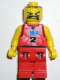 Minifig No: nba028  Name: NBA player, Number 2