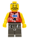 Minifig No: nba030  Name: NBA player, Number 4 with Dark Gray Legs