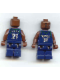 Minifig No: nba036  Name: NBA Kevin Garnett, Minnesota Timberwolves #21 (Dark Blue Uniform)