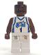 Minifig No: nba038  Name: NBA Tracy McGrady, Orlando Magic #1 (White Uniform)