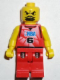 Minifig No: nba041  Name: NBA player, Number 6