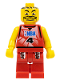 Minifig No: nba044  Name: NBA player, Number 4 with Red Legs