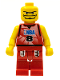 Minifig No: nba046  Name: NBA Player, Number 8 without Hair