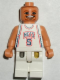 Minifig No: nba047  Name: NBA Jason Kidd, New Jersey Nets #5 (White Uniform)