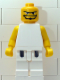 Minifig No: nba050  Name: NBA  Player White Torso, White Legs #1